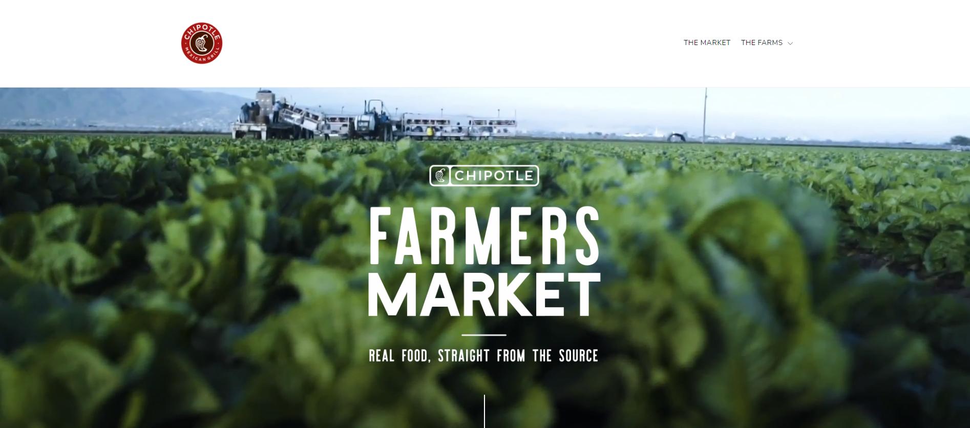 chipotle farmers market