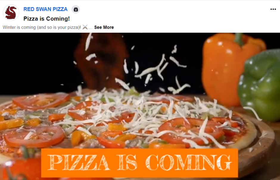 pizza facebook