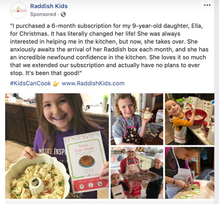 raddish kids facebook