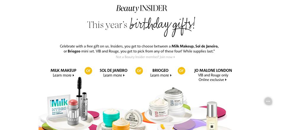 Sephora-Birthday-Deal