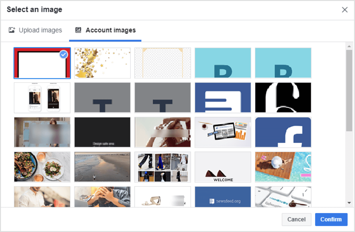facebook image templates