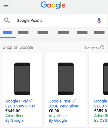 Google adds more attributes to price fields for telecom industry sellers