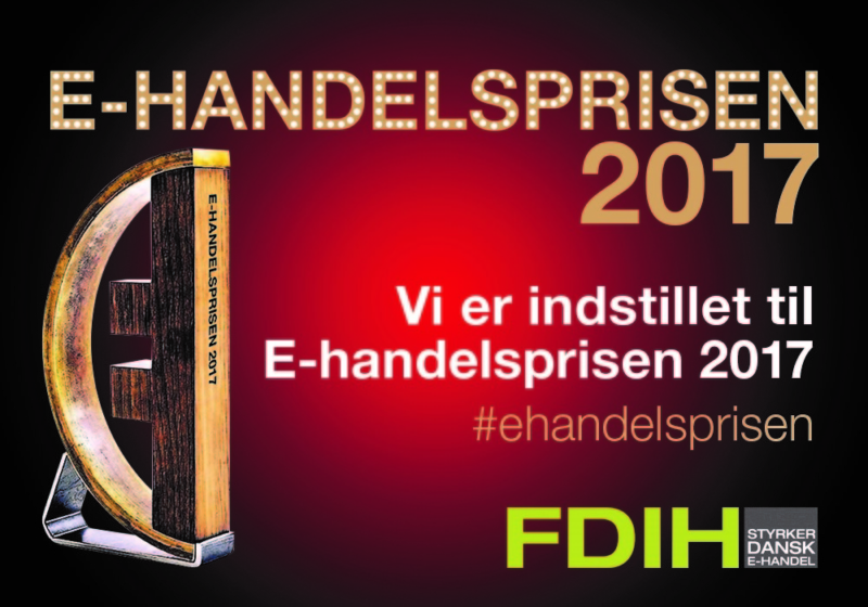 Here are the nominees for the FDIH E-handelsprisen 2017!