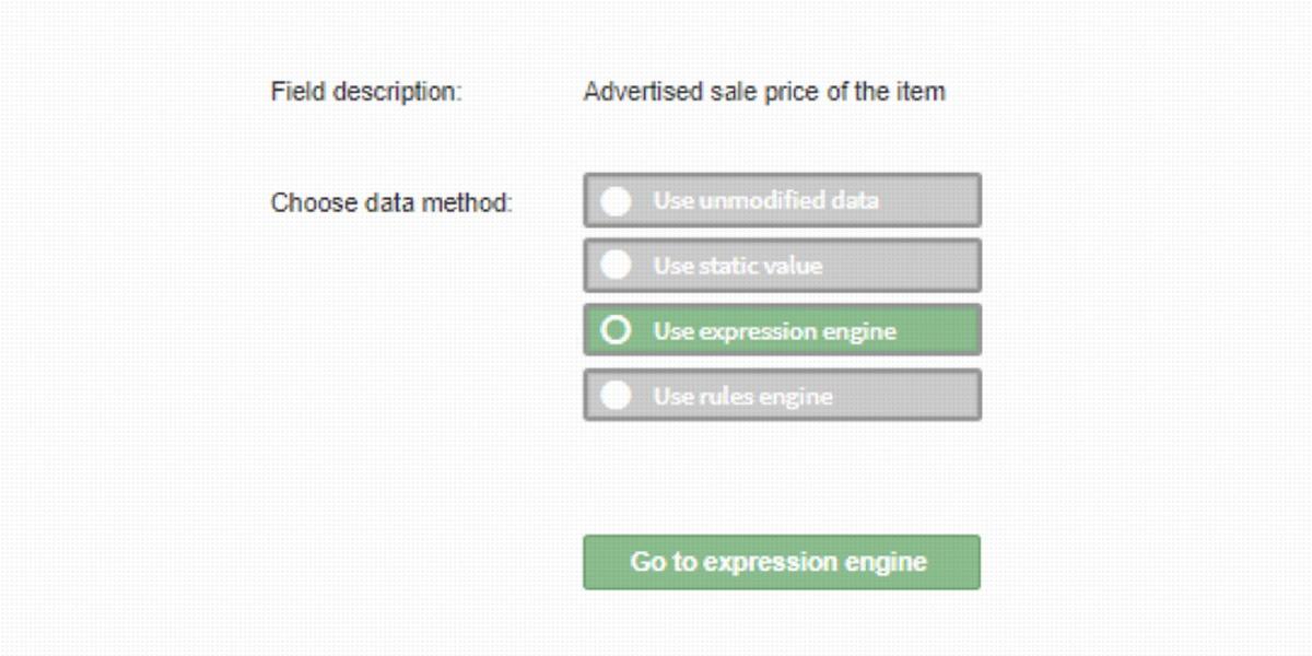 Intiutive data handling